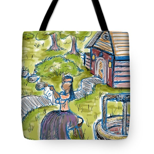 She Made Away Tote Bag