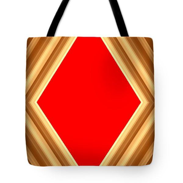 Tote Bag featuring the digital art She Said Love Was Red  by Cletis Stump
