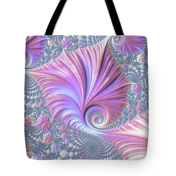 Tote Bag featuring the digital art She Shell by Susan Maxwell Schmidt