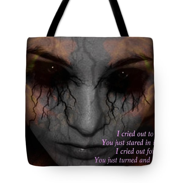 She Turned And Walked Away Tote Bag