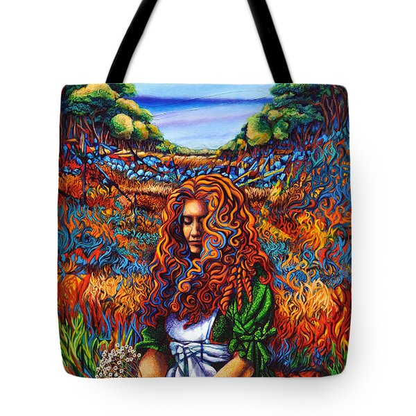 She Was... Tote Bag by Greg Skrtic