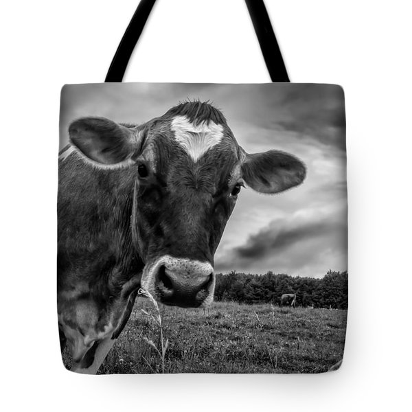 She Wears Her Heart For All To See Tote Bag