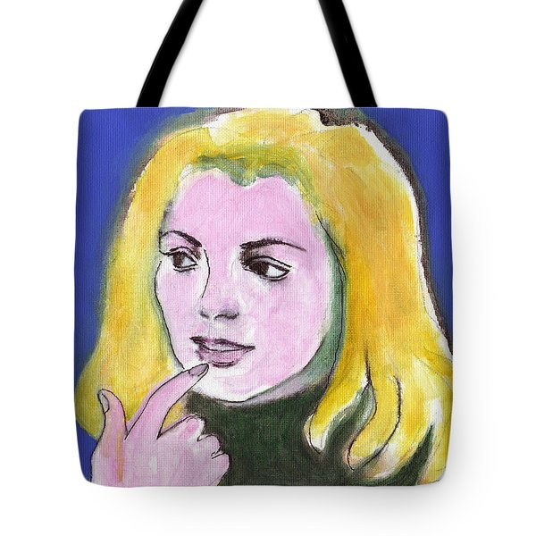 She Wonders Tote Bag
