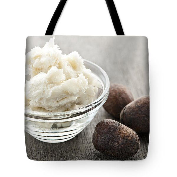 Shea Butter And Nuts  Tote Bag by Elena Elisseeva