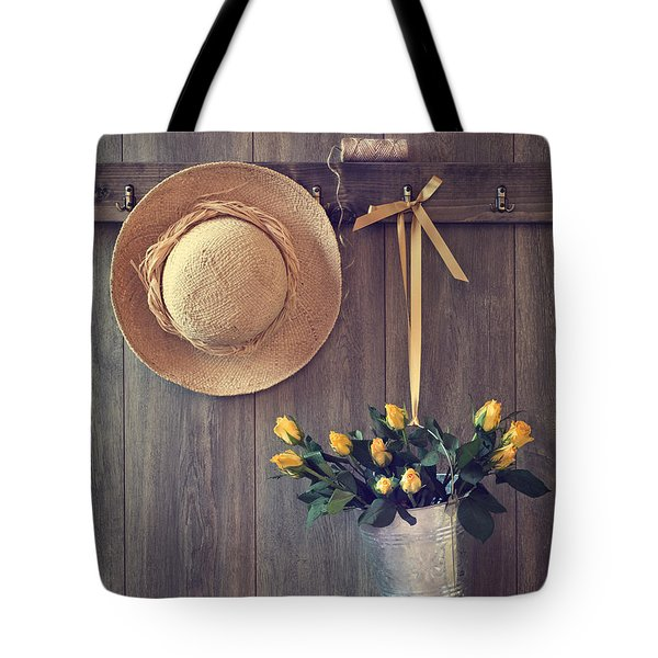 Shed Door Tote Bag