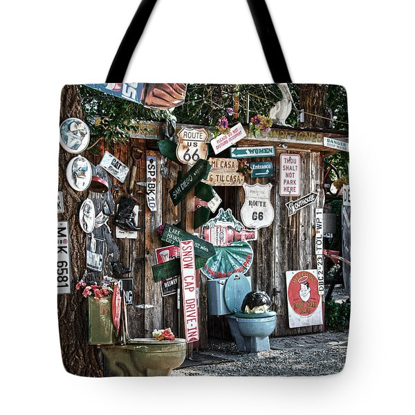 Shed Toilet Bowls And Plaques In Seligman Tote Bag