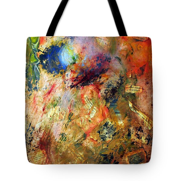 Shedding Light On The Past Tote Bag