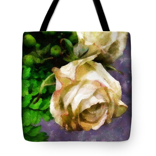 Shedding Stardust Tote Bag by RC deWinter