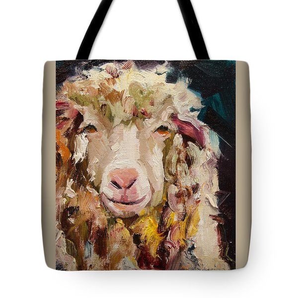 Sheep Alert Tote Bag