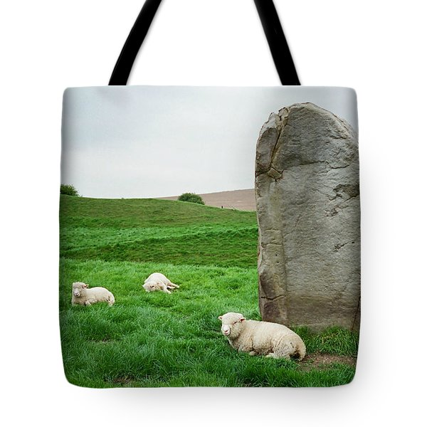 Sheep At Avebury Stones - Original Tote Bag