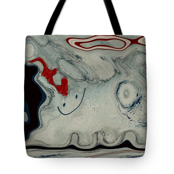 Sheep Or Not So - Bl04h01 Tote Bag by Variance Collections