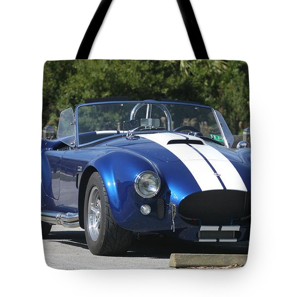 Shelby Cobra Tote Bag by Christiane Schulze Art And Photography