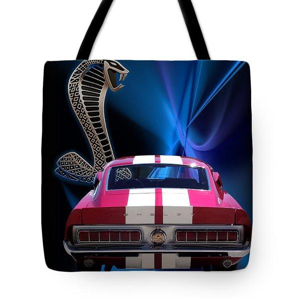 Shelby Cobra Gt-500 Tote Bag by Chris Thomas