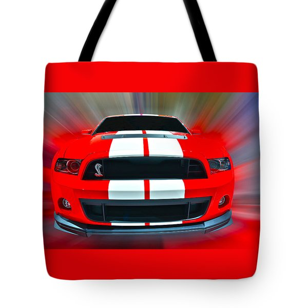 Shelby Gt 500  2013 Tote Bag