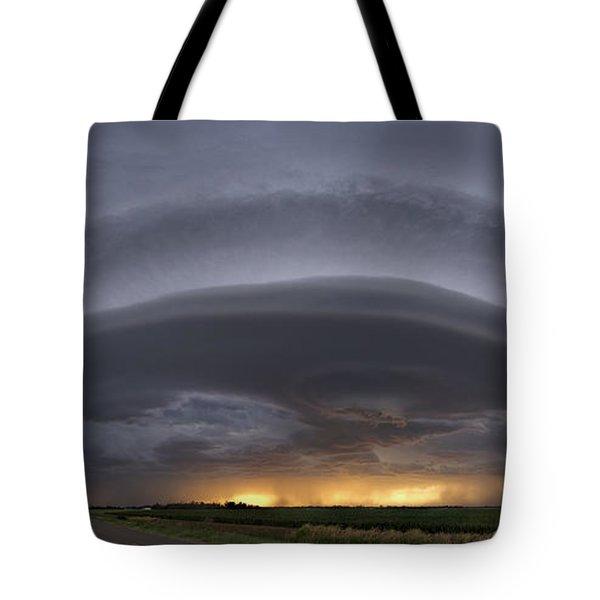 Shelf Cloud Tote Bag