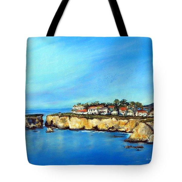 Shell Beach California Tote Bag