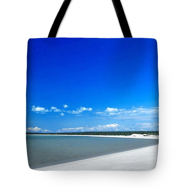 Tote Bag featuring the photograph Shell Beach by Yew Kwang