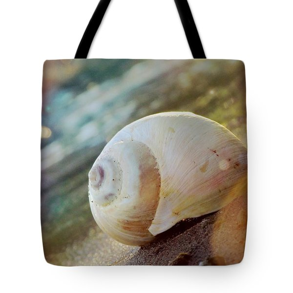 Tote Bag featuring the photograph Shell by France Laliberte