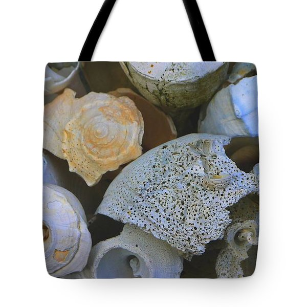 Shell Tote Bag by Nancie DeMellia