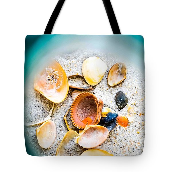 Shell Paradise  Tote Bag by Mary Ward