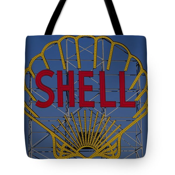 Shell Sign Cambridgeside Tote Bag