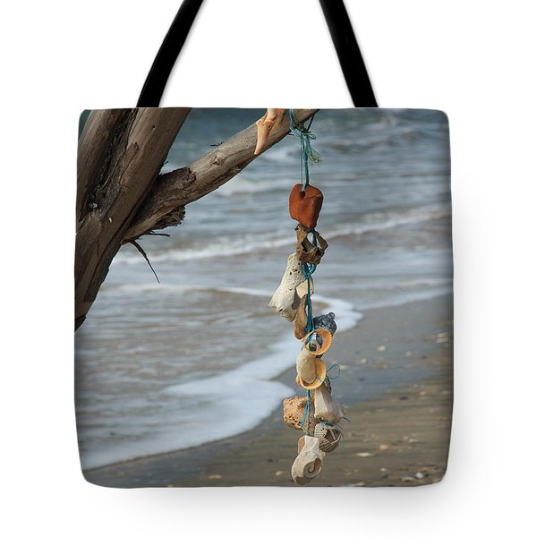 Shells On A String Tote Bag