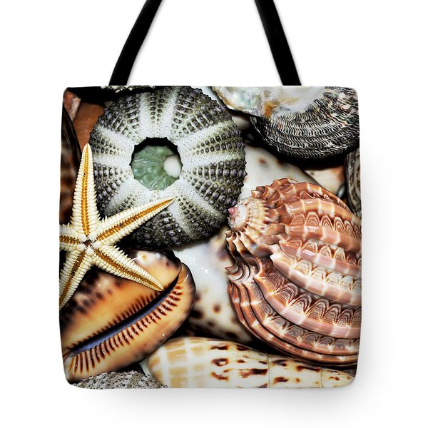 Shellscape Tote Bag by Kaye Menner