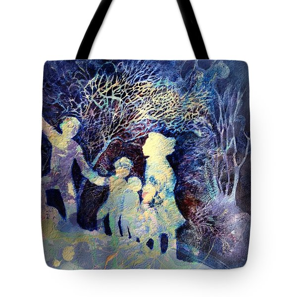 Shelter From The Storm Tote Bag by Marilyn Jacobson