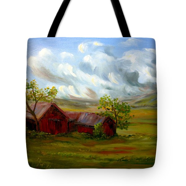 Shelter From The Storm Tote Bag by Meaghan Troup