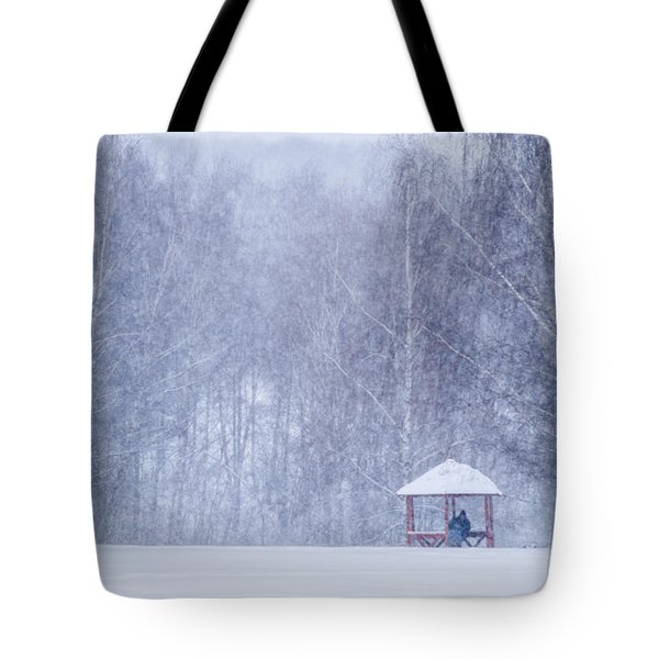 Shelter In The Storm - Featured 3 Tote Bag by Alexander Senin