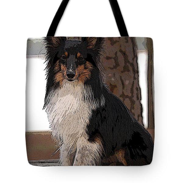 Sheltie Art01 Tote Bag