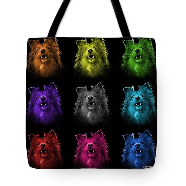 Sheltie Dog Art 0207 - Bb - M Tote Bag