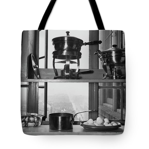 Shelves In Front Of A Window In Vivian Roome's Tote Bag