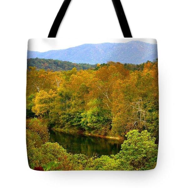 Shenandoah River Tote Bag