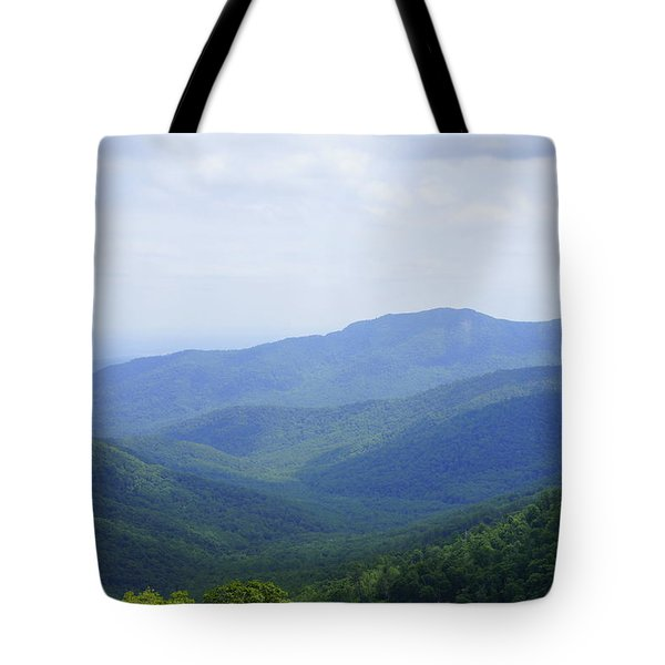 Shenandoah View Tote Bag