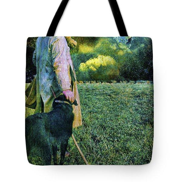 Shepherd And Moon Tote Bag