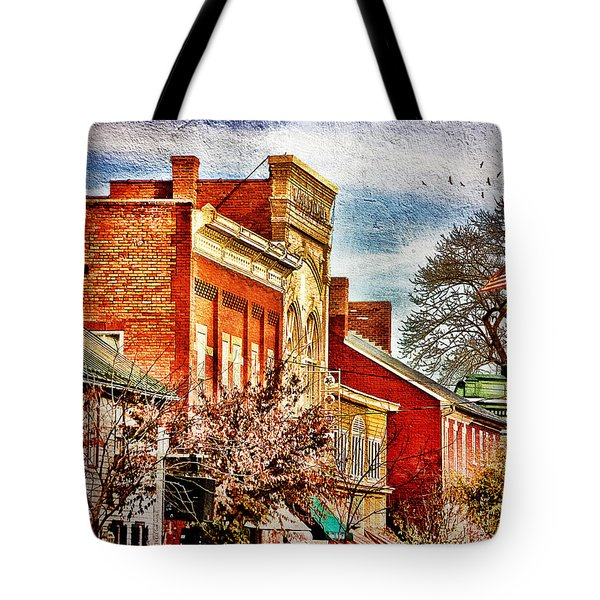 Shepherdstown - East German Street In November Tote Bag