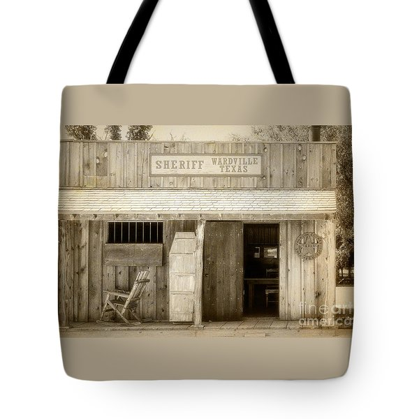 Sheriff Office Tote Bag
