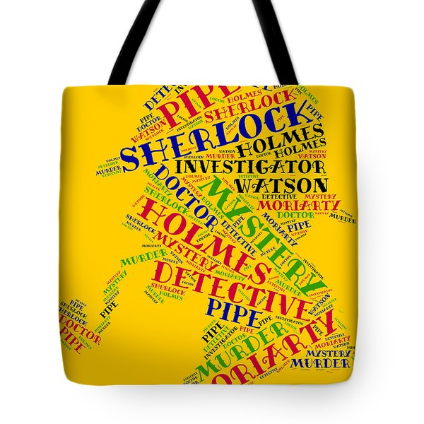 Sherlock Holmes Tote Bag by Bruce Nutting
