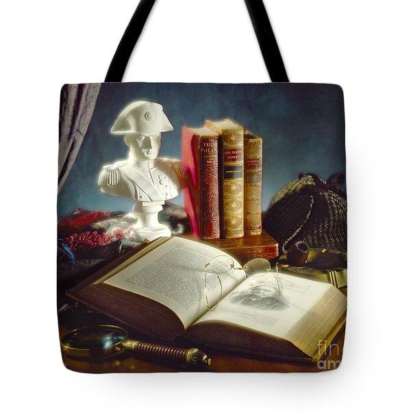 Sherlock Holmes Napoleon Tote Bag