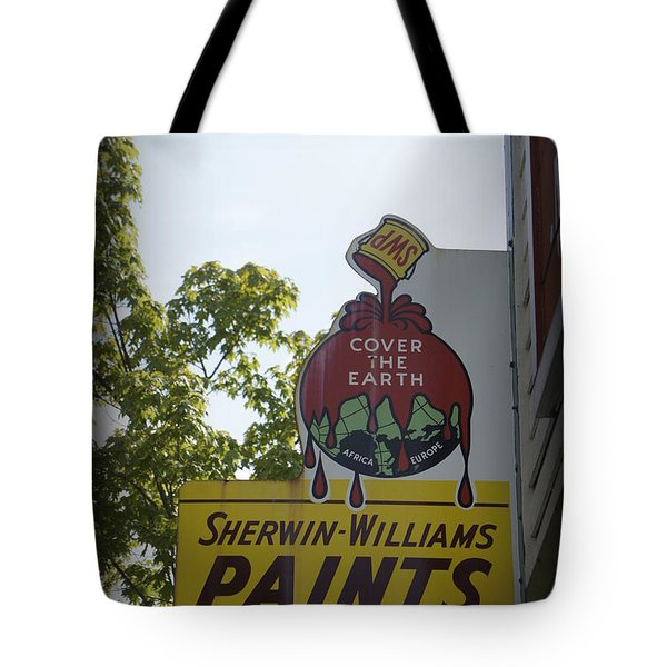Sherwin Williams Tote Bag