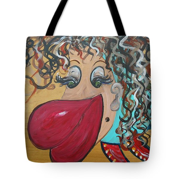 She's A Beauty Tote Bag by Eloise Schneider