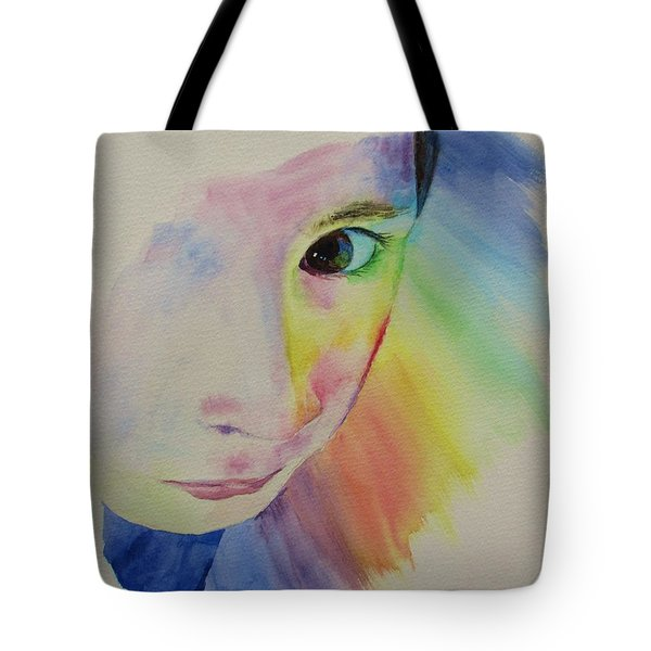 She's A Rainbow Tote Bag