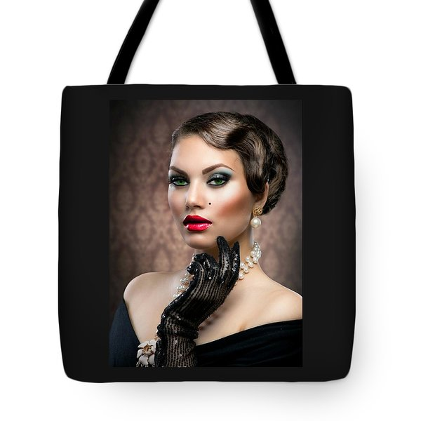 She's Got Class Tote Bag by Karen Showell