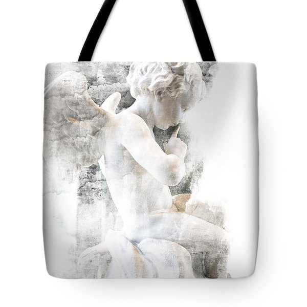 Shhhhh Tote Bag by Evie Carrier