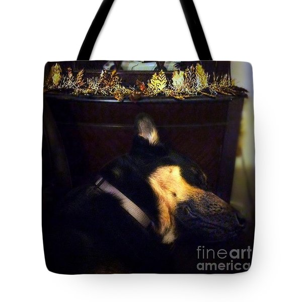 Shhhhhh It's That Time Again.  #gsd Tote Bag