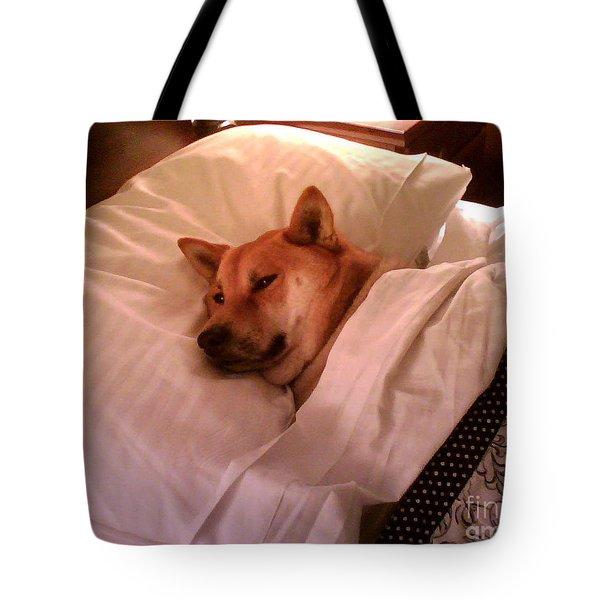 Shiba Inu Kobi-1 Tote Bag