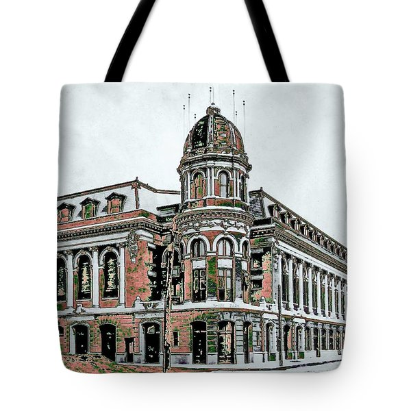 Shibe Park Tote Bag by John Madison