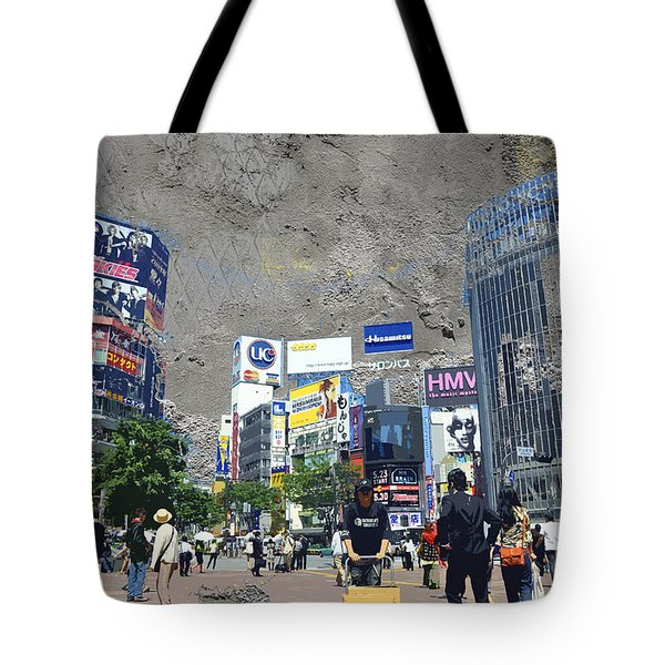 Shibuya Street Creation Tote Bag