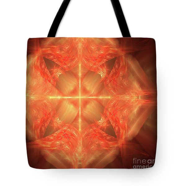 Tote Bag featuring the digital art Shield Of Faith by Margie Chapman